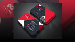 I will do professional premium Business Card Design for Free