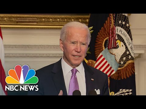 Biden Announces Covid Vaccine Supply Surge To States Across U.S.   NBC Nightly News