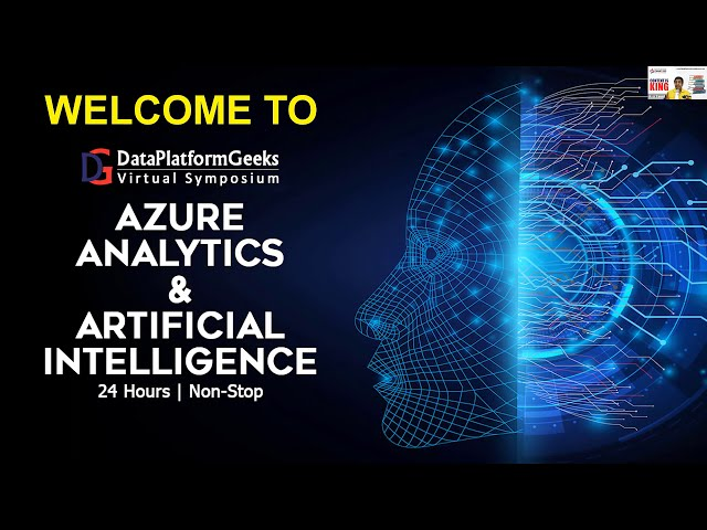 DPG Virtual Symposium 2020 – Azure Analytics & Artificial Intelligence – Welcome Note By Amit Bansal