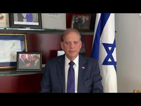 Pészah 2020 – Yacov Hadas-Handelsman nagykövet videó üzenete
