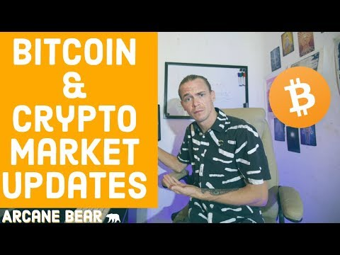 Bitcoin Headed to $7.7k?  Crypto Market Updates