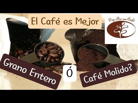 ¿Café Molido o Café en Granos Enteros, Cual es Mejor?