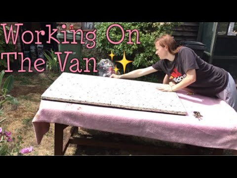 Reupholstering The Top Bed - VW T25 Auto-Sleeper (Video Six)