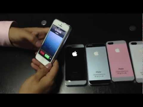 Download Miliky Case IPhone 5 LED GLOW LIGHTING CASE, Plug & Play HD Mp4 3GP Video and MP3