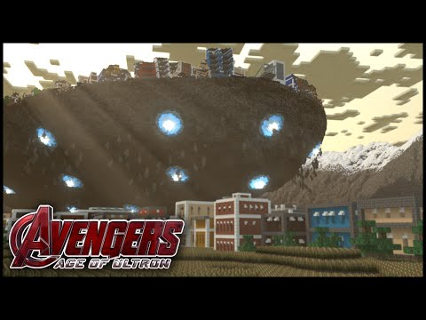 Avengers Age of Ultron | Cinematic | MAP DOWNLOAD Minecraft Project