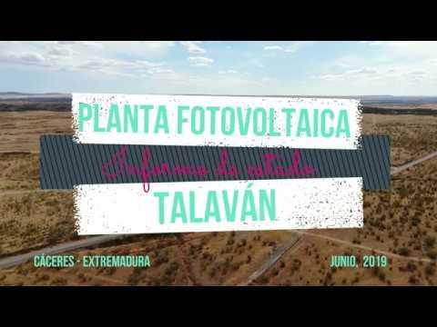 PLANTA FOTOVOLTAICA DE TALAVÁN. UN PROYECTO QUE COMIENZA.
