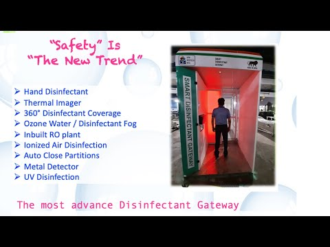 Smart Disinfectant Chamber Tunnel