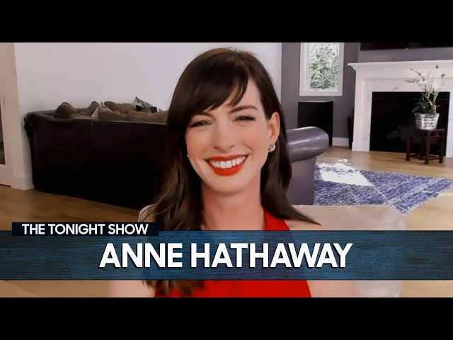 Video Pronunciation of Anne Hathaway in English