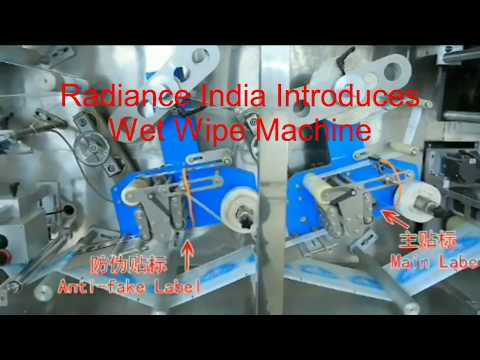 Wet Wipes Machine