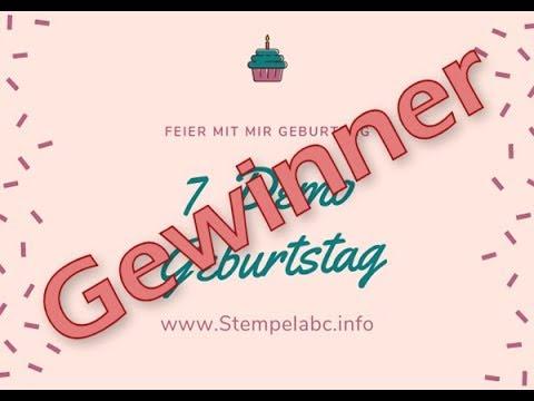 Gewinner 7. Demo Geburtstag Stempelabc Susanne Schöder