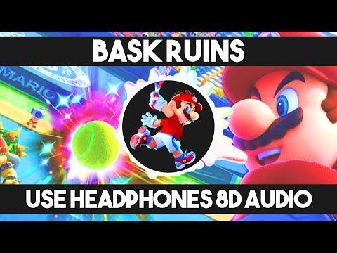 「8D」 Bask Ruins - Mario Tennis Aces Soundtrack (remix)