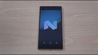 Sony Xperia Z5 Official Android 7.0 Nougat - Review!