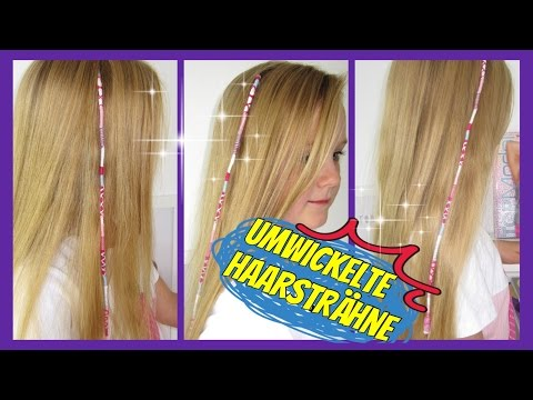 ♥ mit Garn bunt umwickelte Haarsträhne ☮Urlaubshaarsträhne HAIRWRAP♥Sommerfrisur für Mädchen