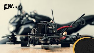 ON FAIT UNE SESSION FPV ENSEMBLE ! [MOTO + DRONE]