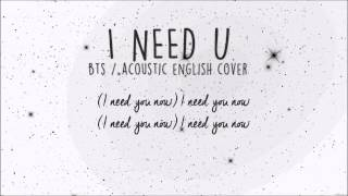 """BTS - """"I Need U"""" (Acoustic english cover) by Margot D.R"""