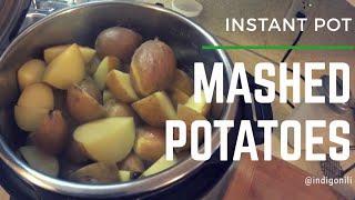 Mashed Potatoes - No Drain! (Instant Pot)