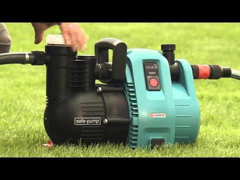 GARDENA Bewässerung | Garten-, Tauch-Druck- & Regenfasspumpe