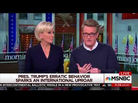 Scarborough Calls for Trump Removal: