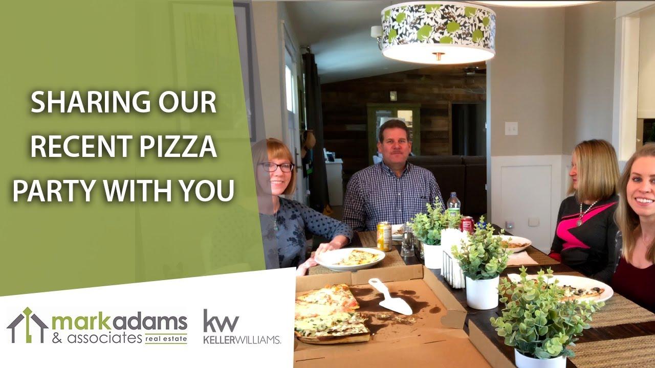 The Mark Adams & Associates Pizza Party