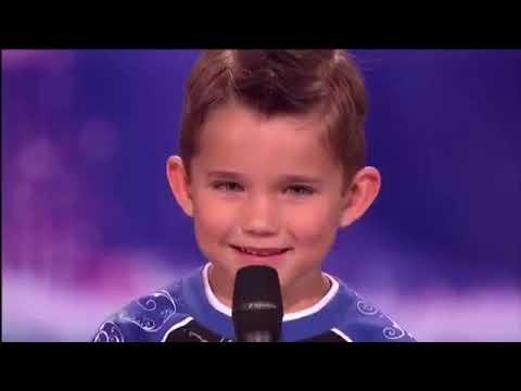 Little kid dances to lil pump  on Americas Got Talent