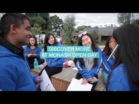 Discover More at Monash Open Day 2017