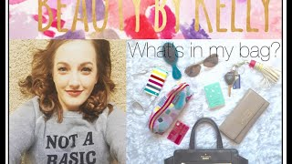 Whats In My Bag!? L Kate Spade L April 2016