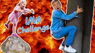 ВСЕ НАЧАЛОСЬ Из За ПАПЫ! Папа Сам Устроил ЧЕЛЛЕНДЖ Пол Это ЛАВА или Floor is lava Chellenge