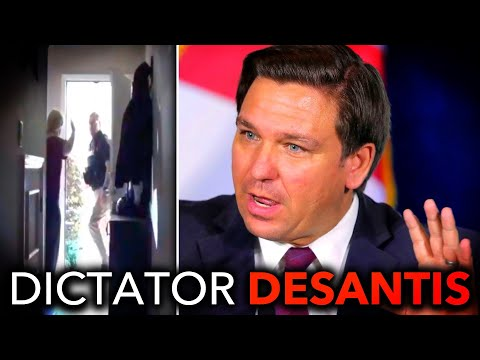 Florida Whistleblower's Home Raided, Evidence of Ron DeSantis' Corruption Seized