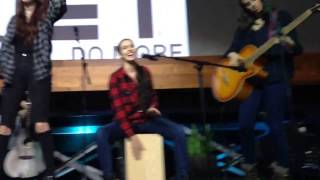 Cimorelli - That Girl Should Be Me at YouTube Space LA