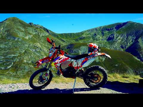 La via del sale in moto! (KTM exc 125) - nocivo travel