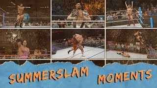 WWE 2K16 Summerslam Moments