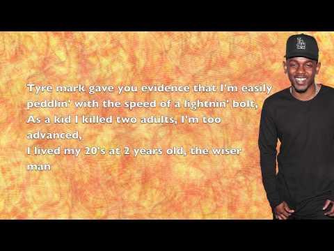 Kendrick Lamar - Hol' Up - Lyrics