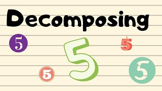 Decomposing Number 5/Addition Practice
