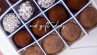 [Eid Gift Ideas] 3 WAYS Homemade Chocolate Truffles