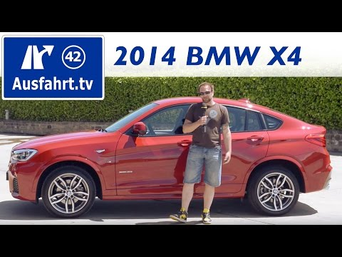 2014 BMW X4 xdrive35i (F26) - Test / Review (german) / Fahrbericht der Probefahrt SUV SAC