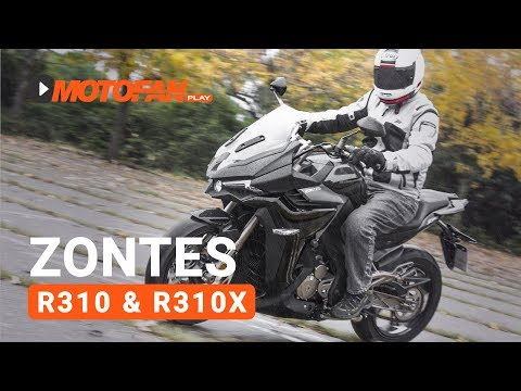 Vídeos de la Zontes R310