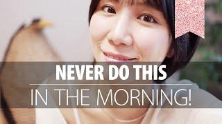 끌어당김 성공? 🥇 아침에 이것만큼은 하지 마세요!