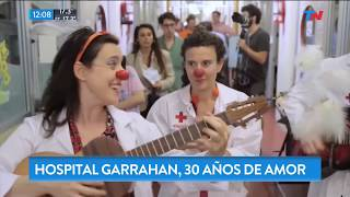 El hospital Garrahan cumple 30 años