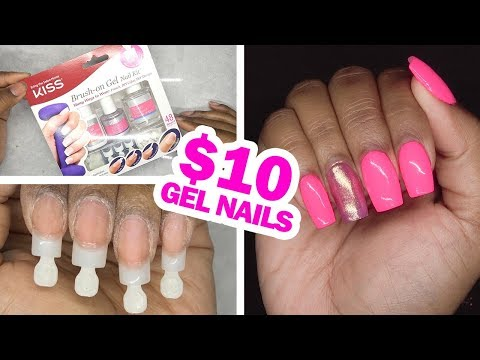 DIY Testing Kiss Gel Nail Kit