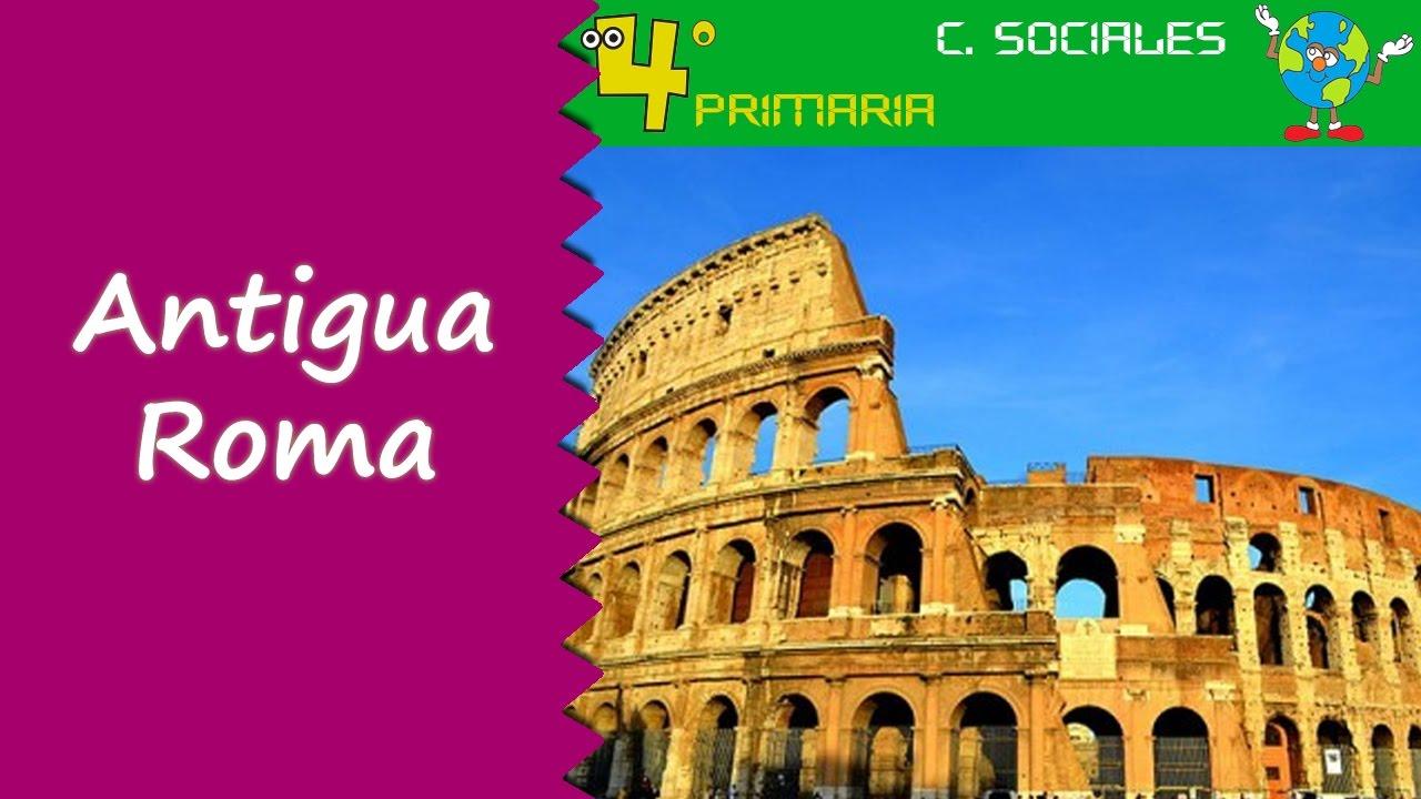 Ciencias Sociales. 4º Primaria. Tema 8. La civilización romana