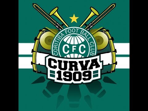 """CURVA 1909 CORITIBA X VILA NOVA 23/7/19"" Barra: Curva 1909 • Club: Coritiba"