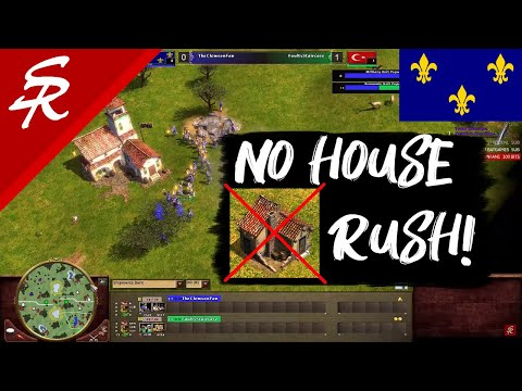 NO House Native Rush! Age of Empires III