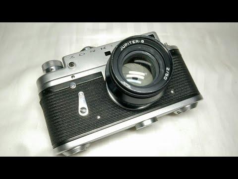 vintage ZORKI-4 Russian Film Camera