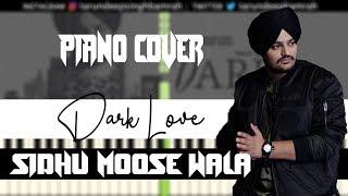 Dark Love (Piano Cover) | Sidhu Moose Wala | Tarundeep Singh | Free MIDI And Audio File