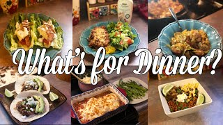 What's for Dinner?| Family Meal Ideas| March 11-16, 2019