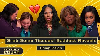 Grab Some Tissues! SADDEST Reveals On Paternity Court (Full Episode) | Paternity Court