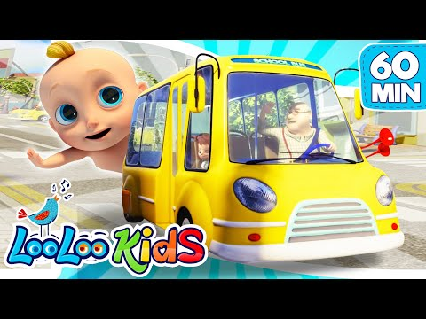 The Wheels On The Bus - Educational Songs for Children | LooLoo Kids