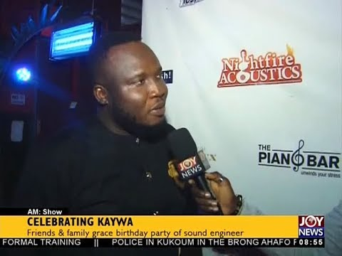 Celebrating Kaywa - AM Show on JoyNews (2-4-18)