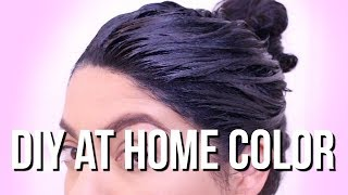 MY EASY NO DAMAGE DIY AFFORDABLE DRUGSTORE HAIR COLORING ROUTINE + HAIR TUTORIAL | SCCASTANEDA