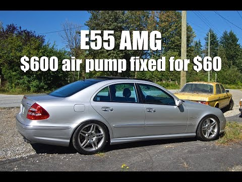 Mercedes E55 AMG | Bosch 010 IC Pump DIY - смотреть онлайн
